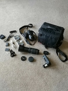 Canon Rebel Xti Complete Outfit In Calgary Letgo