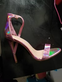 Pink iridescent heels. Brand new! Prom ready? Baltimore