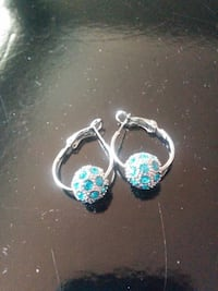 Blue/Silver Earing Vaughan, L6A 3P3