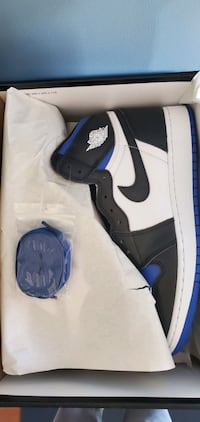 Air Jordan Retro 1 OG Royal Toe | Size 10