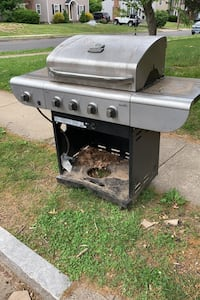 Charbroil commercial series propane grill -free first come first serve