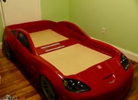 2Step Corvette Bed Toddler to Twin with working headlights  San Diego