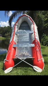 inflatable boat 8 person / Dinghy with Aluminum floors Palm Harbor, 34685