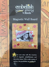 """Home Decor: Decorative Magnetic Wall Board (16"""" x 16"""") - BRAND NEW WITH TAGS. Two Available at $15 each. **See what else I have for sale** Stockton, 95209"""
