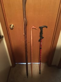 3 walking sticks  Calgary, T2Y 2W5
