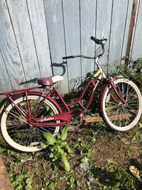 Black and red cruiser bike Kingsport, 37660