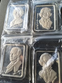 4 - one ounce bars (The fathers of American democracy) Bartow, 33830