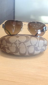 silver framed Ray-Ban aviator sunglasses Patterson, 95363