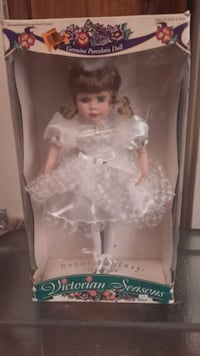 Victorian Seasons Porcelain Doll