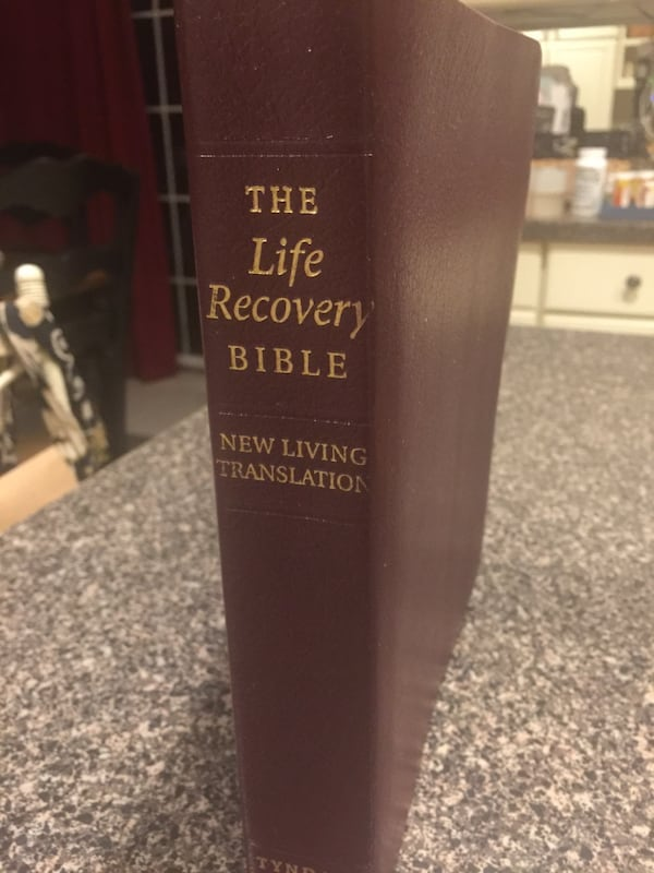 The Life Recovery Bible, NEW  Burgundy Leather af4f3399-552e-4f78-a945-c6b1717e72ed