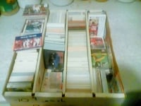 american football trading card collection