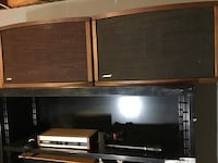 Bose 901 Series IV Audophile Speakers W/Equalizer and Bose Microphone