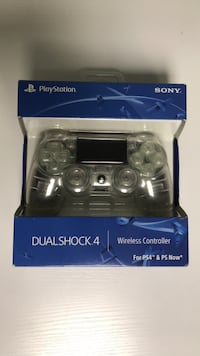 Clear PlayStation controller custom in box Howell, 07731