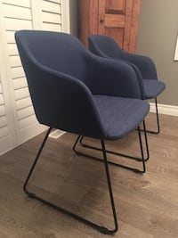 Two Blue New Condition Dining Chairs London, N5X 0H8