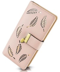 Pink/Gold Wallet