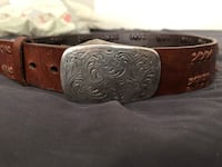 Black and brown leather belt Provo, 84606