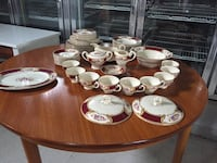 English bone china set  Saanich, V8Z 6W5