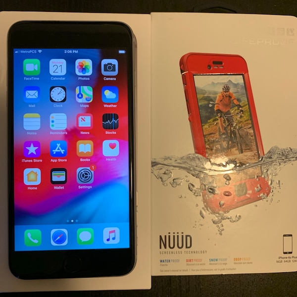 new concept 1f067 8ffe3 Used Apple iPhone 6s Plus 32gb metro Metropcs for sale in Sacramento ...