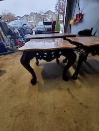 Set of marble table  Markham, L3S 3E9