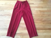 QUALITY DESIGN PANTS SIZE SMALL B DESIGN MADE IN FRANCE NEW CONDITION. Montréal, H9K 1S7