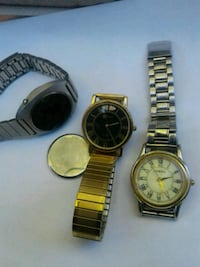 Fossil, Rushmore and litronix men's watches 2066 mi