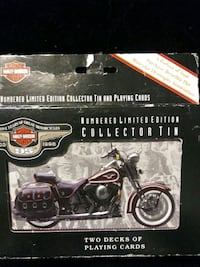 Harley Davidson 95th Limited Edition Plaing Cards.