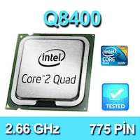 Core 2 Quad Q8400 2.66Ghz 775 Pin Gültepe Mahallesi