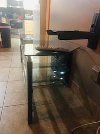 TV stand (glass) Hollywood, 33021