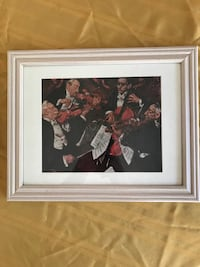 """Musical instrument ensemble 8"""" x 10"""" color print with Matt and frame West Palm Beach, 33407"""