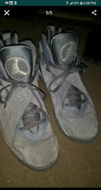 air jordan cool grey 8's for sale size 10.5 pick up only need cash  San Jose