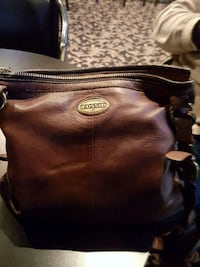 Beautiful brown leather authentic fossil bag Maple Ridge, V2K 2T2