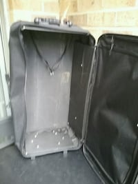 two black leather car seats Gaithersburg, 20886