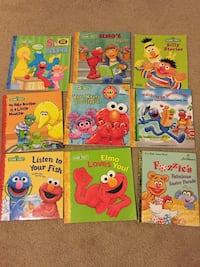 Sesame St book collection Kitchener, N2E 4A4