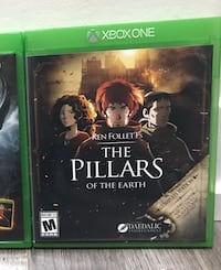 The Pillars Of The Earth XBox One Brampton, L7A