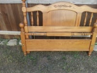 brown wooden headboard and footboard Mansfield, 76063