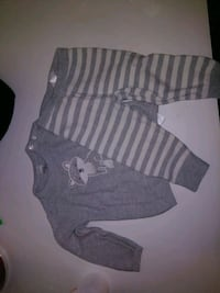 gray and white striped sweater set 18 months O'Fallon, 63366