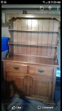 Solid rock hard maple hutch Owensboro, 42303