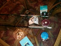 Fly rod combo.    25.00 Columbia, 17512