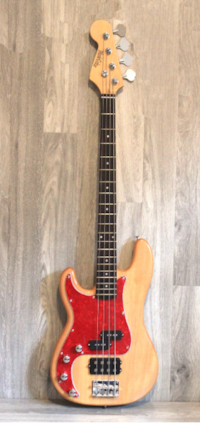 Left handed Bass Guitar 4 strings Natural Jazz bass full size Toronto