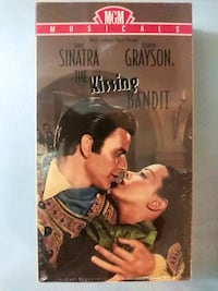 The Kissing Bandit vhs