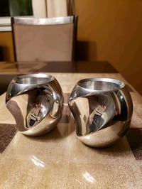 Nambe twist silver votives Oxon Hill, 20745