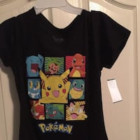 Teen girls Pokémon characters shirt  London, N6M 1J4