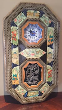 Persian Art - Wall Clock Richmond Hill, L4E 4H3