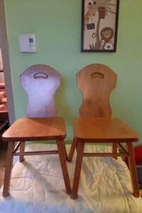 Two toddler chairs