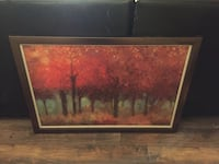 brown wooden framed painting of house Riverbank, 95367