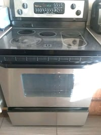 black and gray induction range oven Whirlpool Montreal, H1H