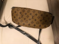 black & brown Louis Vuitton leather fanny pack  Newark, 19702