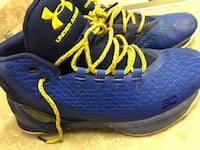 S. Curry Blue & yellow Under Armour Basketball shoes Tucson, 85704
