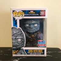 "Korg and Meik NYCC Funko Pop ""convention"" MINT Mississauga, L5M 5B5"