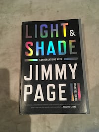 Light & Shade by Jimmy Page book Toronto, M4M 3A9